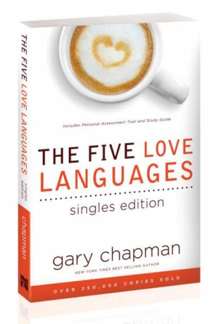Books About Love - The Five Love Languages Singles Edition