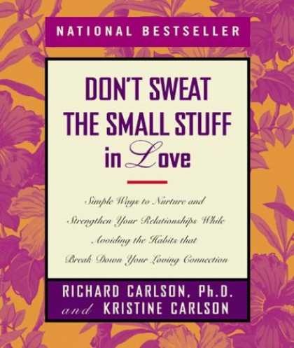Books About Love - Don't Sweat the Small Stuff in Love (Don't Sweat the Small Stuff Series)
