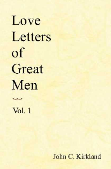 Books About Love - Love Letters of Great Men