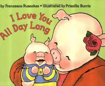 Books About Love - I Love You All Day Long