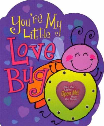 Books About Love - You're My Little Love Bug (Parent Love Letters)