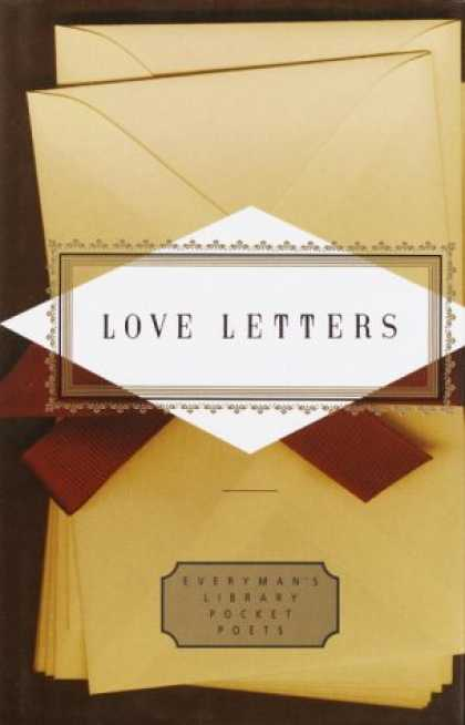 Books About Love - Love Letters (Everyman's Library Pocket Poets)