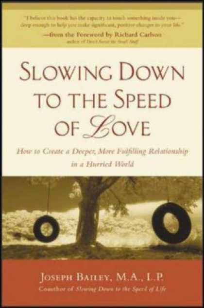 Books About Love - Slowing Down to the Speed of Love