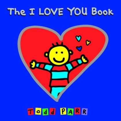 Books About Love - The I LOVE YOU Book