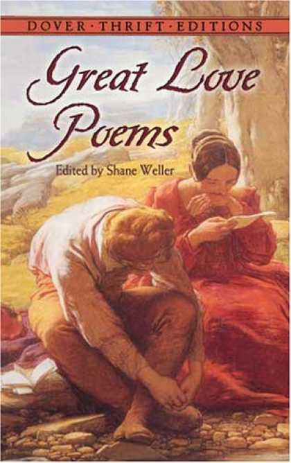 Books About Love - Great Love Poems (Dover Thrift Editions)