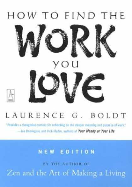 Books About Love - How to Find the Work You Love
