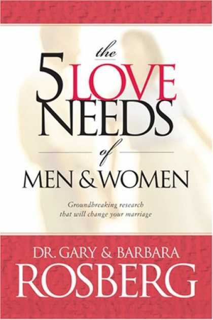Books About Love - The 5 Love Needs of Men and Women