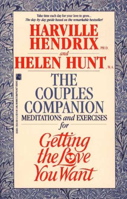 Books About Love - Couples Companion: Meditations & Exercises for Getting the Love You Want : A Wor