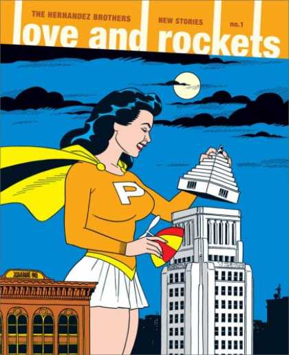 Books About Love - Love and Rockets: New Stories #1 (No. 1)