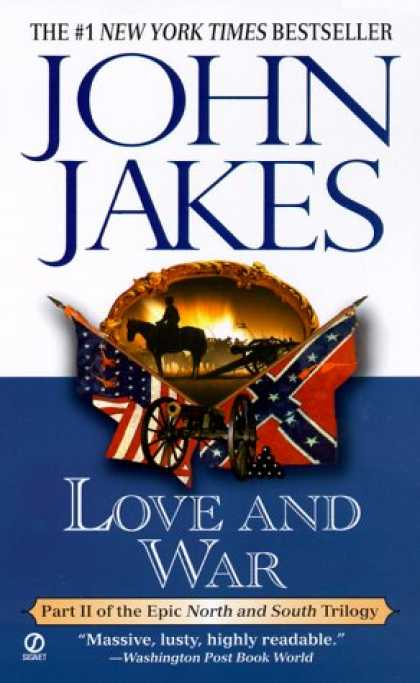 Books About Love - Love and War (North and South Trilogy)