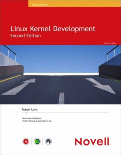 Books About Love - Linux Kernel Development (2nd Edition) (Novell Press)
