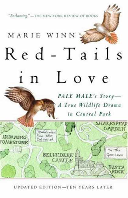 Books About Love - Red-Tails in Love: A Wildlife Drama in Central Park (Vintage Departures)