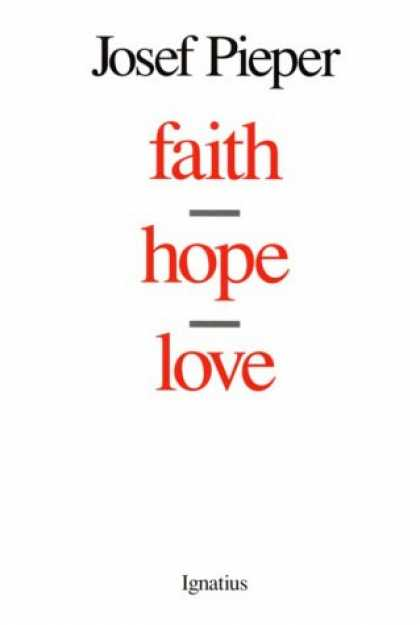 Books About Love - Faith, Hope, Love