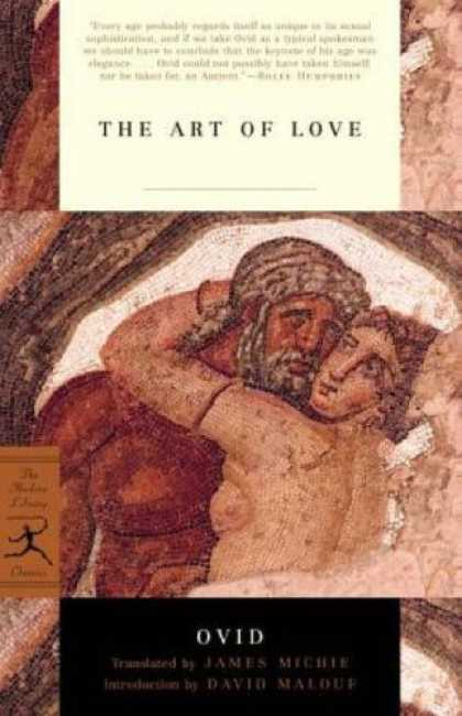 Books About Love - The Art of Love (Modern Library Classics)