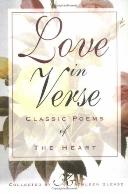 Books About Love - Love in Verse: Classic Poems of the Heart