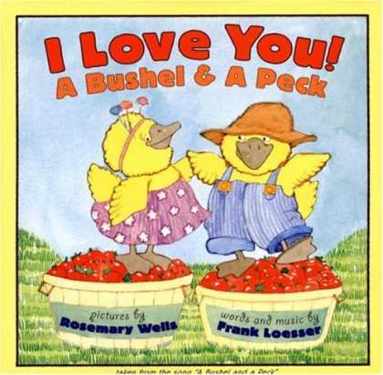 Books About Love - I Love You! A Bushel & A Peck