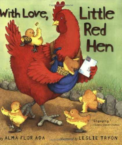 Books About Love - With Love, Little Red Hen