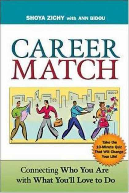 Books About Love - Career Match: Connecting Who You Are with What You'll Love to Do