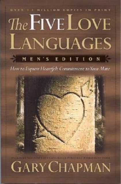 Books About Love - The Five Love Languages: How to Express Heartfelt Commitment to Your Mate [5 LOV