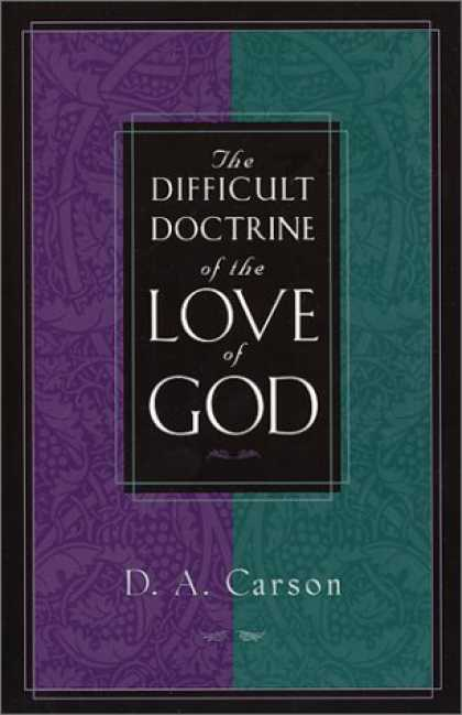 Books About Love - The Difficult Doctrine of the Love of God