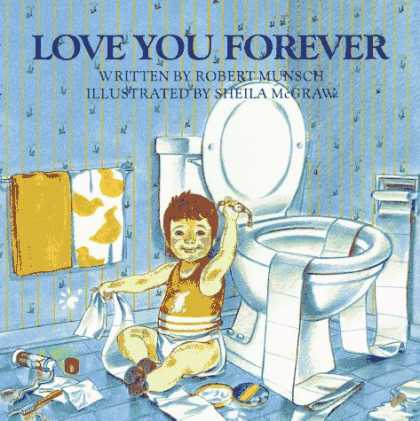 Books About Love - Love You Forever