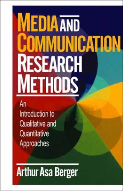 Books About Media - Media and Communication Research Methods: An Introduction to Qualitative and Qua