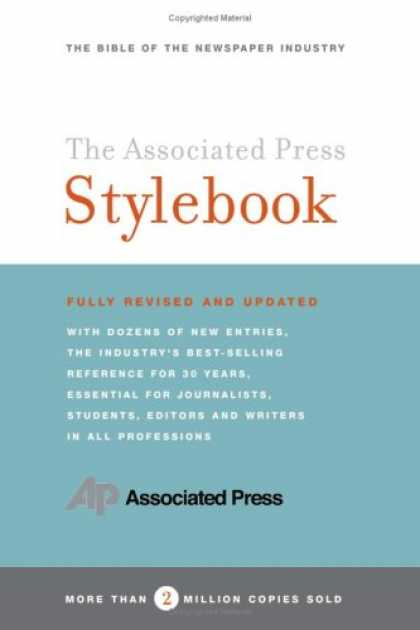 Books About Media - The Associated Press Stylebook and Briefing on Media Law