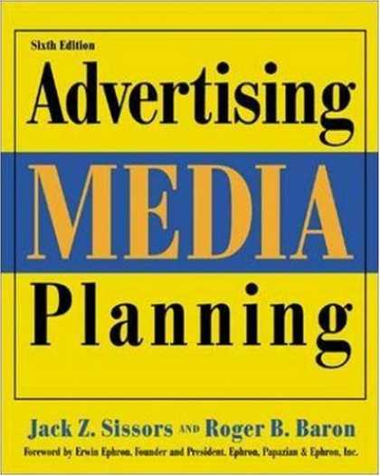 Books About Media - Advertising Media Planning, Sixth Edition