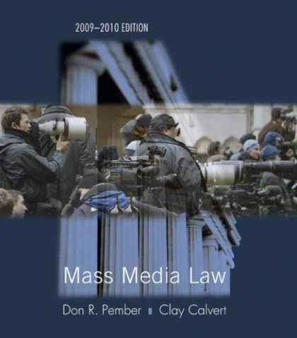 Books About Media - Mass Media Law 2009/2010 Edition
