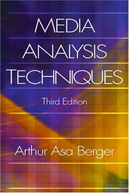 Books About Media - Media Analysis Techniques