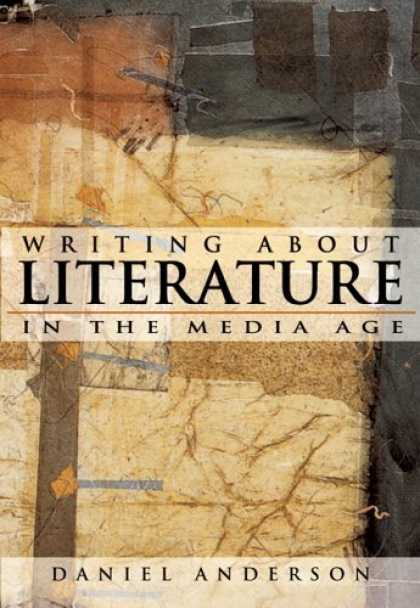 Books About Media - Writing About Literature in the Media Age (with CD-ROM)