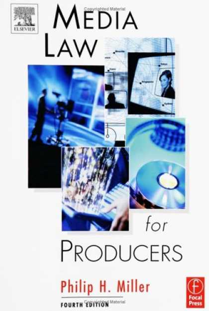 Books About Media - Media Law for Producers, Fourth Edition