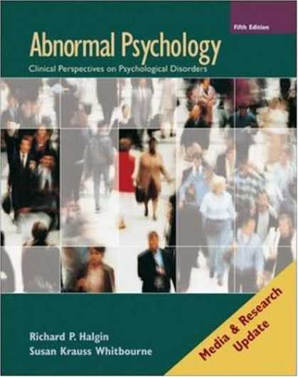 Books About Media - Abnormal Psychology: Media and Research Update (5e with MindMap CD-ROM)