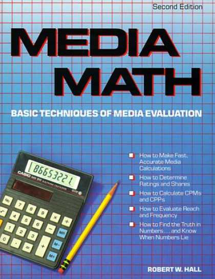 Books About Media - Media Math: Basic Techniques of Media Evaluation