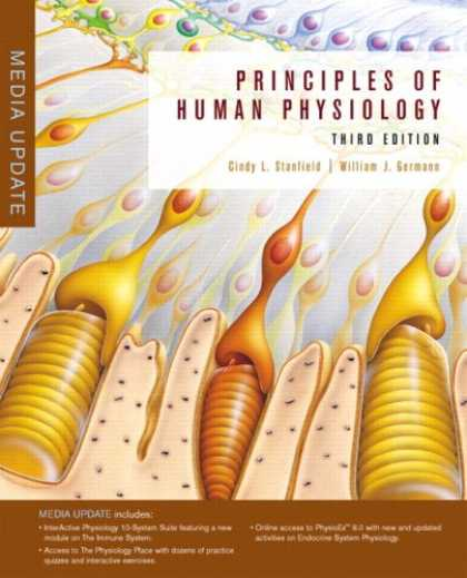 Books About Media - Principles of Human Physiology, Media Update (3rd Edition)