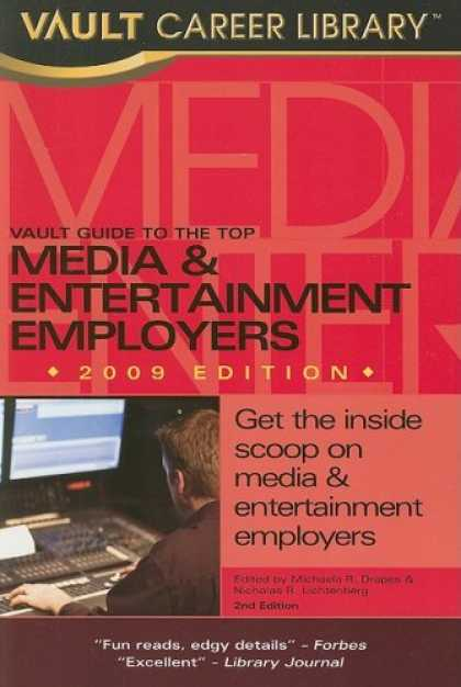 Books About Media - Vault Guide to the Top Media & Entertainment Employers (Vault Career Library)