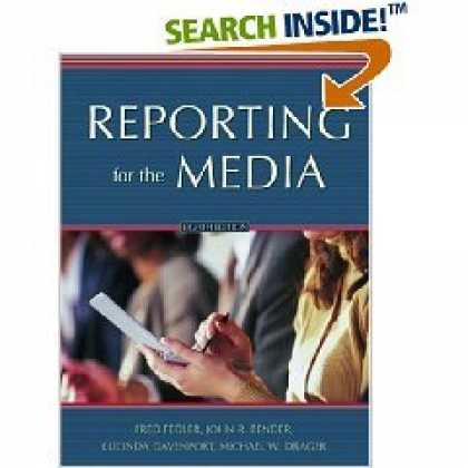 Books About Media - Reporting for the Media - 8th (Eighth) Edition