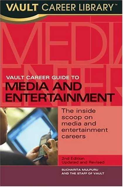 Books About Media - Vault Career Guide to Media and Entertainment (CDS) (Vault Career Guide to Media