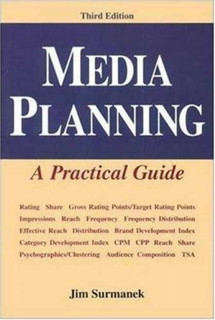 Books About Media - Media Planning: A Practical Guide