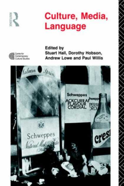 Books About Media - Culture, Media, Language: Working Papers in Cultural Studies, 1972-79 (Cultural