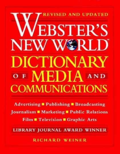 Books About Media - Webster's New World Dictionary of Media and Communications