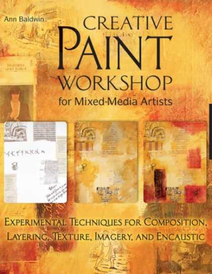 Books About Media - Creative Paint Workshop for Mixed-Media Artists: Experimental Techniques for Com