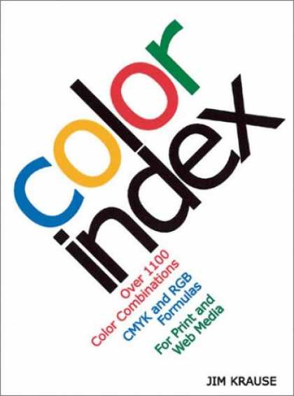 Books About Media - Color Index: Over 1100 Color Combinations, CMYK and RGB Formulas, for Print and