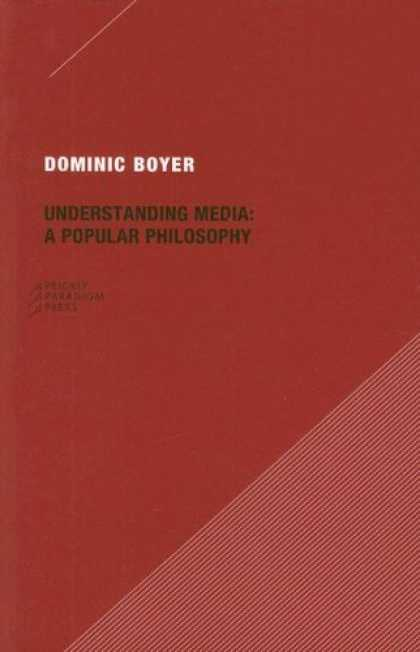 Books About Media - Understanding Media: A Popular Philosophy (Paradigm)