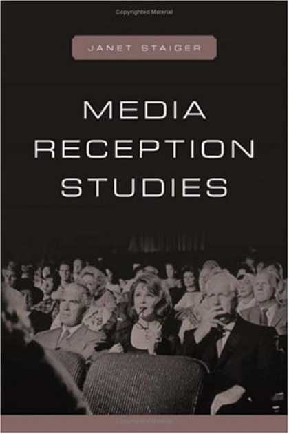 Books About Media - Media Reception Studies