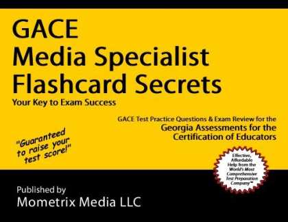 Books About Media - GACE Media Specialist Flashcard Secrets: GACE Test Practice Questions & Exam Rev