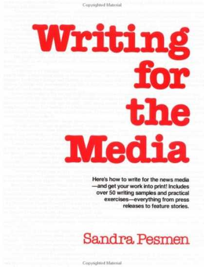 Books About Media - Writing for the Media