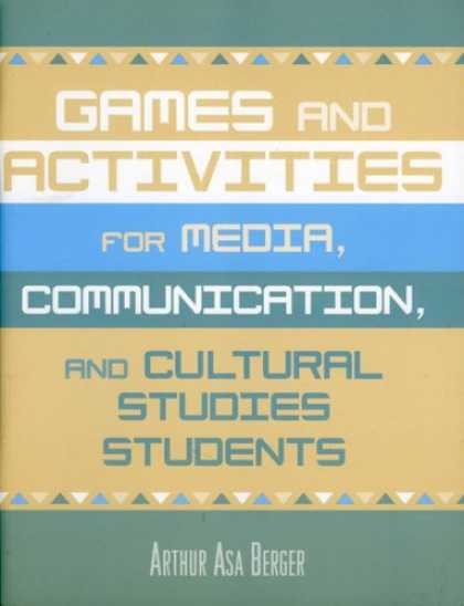 Books About Media - Games and Activities for Media, Communication, and Cultural Studies Students