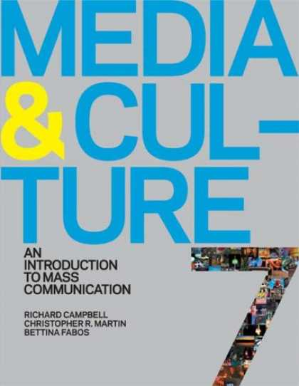 Books About Media - Media and Culture: An Introduction to Mass Communication