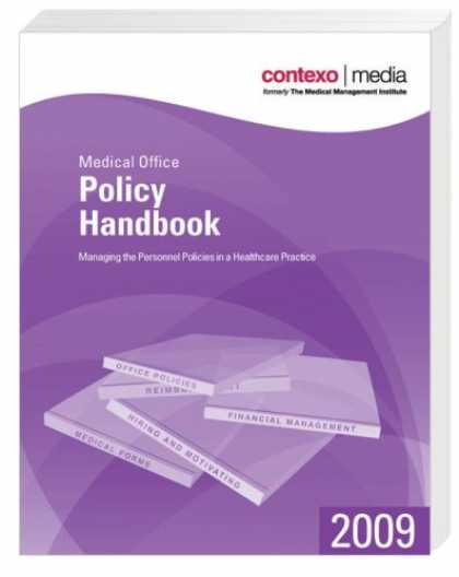 Books About Media - 2009 Medical Office Policy Handbook